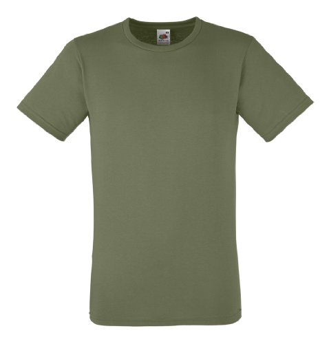 Fruit of the Loom T Ausgestattet Valueweight Klassische Olive XL XL,Klassische Olive - Ausgestattet Olive