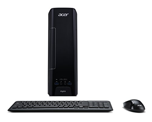 Acer Aspire XC-780 Desktop PC (Intel Core i5-7400, 8GB RAM, 256GB SSD, Intel HD, DVD, Win 10) - Kleine Desktop-tower