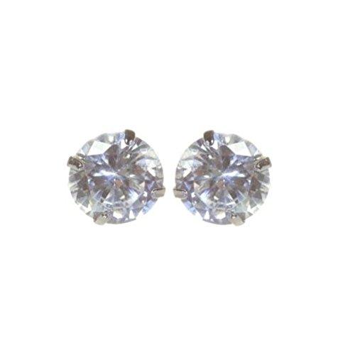 Deliawinterfel punto luce in argento unisex cristallo swarovski 2 carati - trasparente by