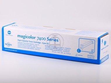 Magicolor 7450 Toner Cyan (Konica Minolta Magicolor 7450 (8938-624) - original - Toner cyan - 12.000 Seiten)