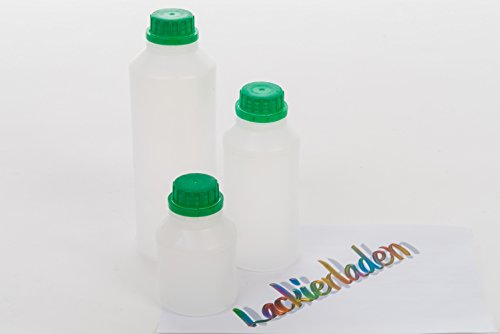 Plastikflasche mit Skala inkl. Deckel 0,25 L (Mit 0,25)