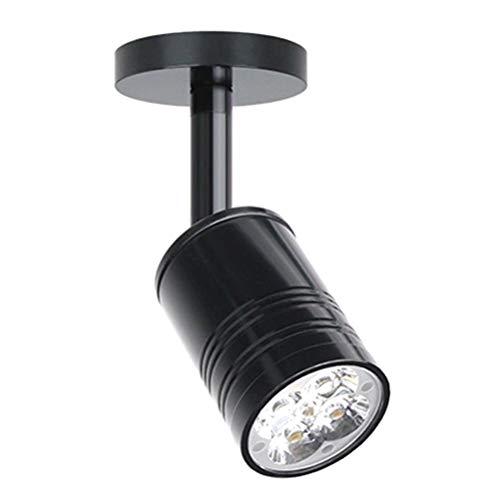 ledmomo Spot à LED d'intérieur 110 - 220 V 5 W Spot de plafond encastrable lumière encastrable à 360 ° spots orientables à encastrer lampe murale lumière blanche