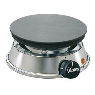 ARDES L Elektrokocher BRASERO 52 ❀ 1.200 Watt ❀ 19 cm Durchmesser ❀ gusseiserne Kochplatte