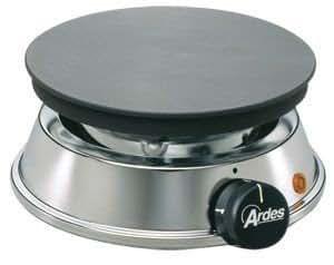 'Ardes' Réchaud électrique 'Brasero 19 cm, 1200 watt 4 niveaux de chauffe