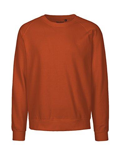 -Neutral- Sweatshirt, 100% Bio-Baumwolle. Fairtrade, Oeko-Tex und Ecolabel zertifiziert Orange