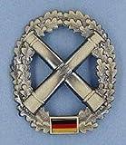 ABL BW Barettabzeichen Bundeswehr, Verschiedene Truppengattungen Farbe Artillerie