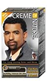 Tintura da uomo Crème of Nature, per capelli, baffi e barba, colore Rich Black