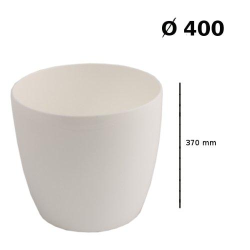 Prosper Plast duo400-s44940x 36,5cm Coubi Blumentopf, weiß 1 stuck