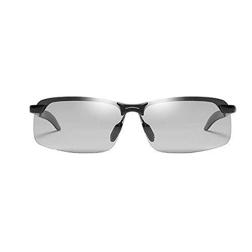 Jingchen Sonnenbrille Für Männer Sport Fahren Radfahren Laufen Angeln Golf Unbreakable Frame Metal Driver Anti -UV
