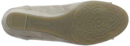 Jenny Livorno, Chaussures à talons - Avant du pieds couvert femme Beige - Beige (lino,silber sat. 07)