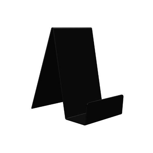 10 x Displaypro patrones e instrucciones para hacer negro libro de caja acrílico función de atril y, Ideal para práctica de libros o como de oso con, móviles, discos y las más! - Farabi Sports!