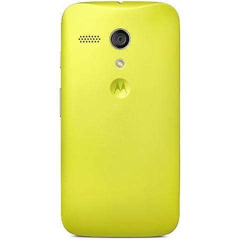 Motorola Clip-On Shell - Carcasa trasera para móvil Motorola Moto G, verde claro