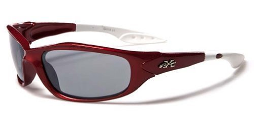 Kids Sunglasses UV400 Rated Ages 3-10 (Crimson)
