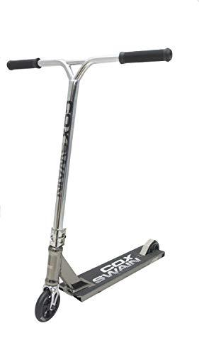Cox Swain Stunt Scooter The 88 Wide Deck 110mm Rollen - ABEC9 Lager- ALU Kern Rollen Super Quality! - Black/Gold