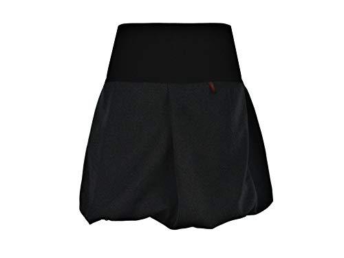 Dunkles Design (dunkle design Ballonrock Mini in Zwei Längen - Farbe nach Wahl (45cm Schwarz, S 36/38))