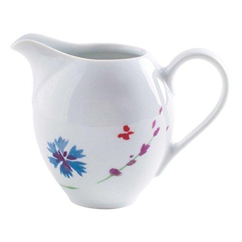 Kahla Aronda Milchkännchen, Kännchen, Milchschaumkännchen, Milchgießer, Porzellan, Tanzende Blüten, 200 ml, 051007A50439A