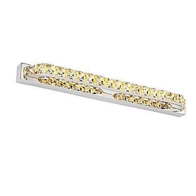 piteng- 68cm 18W LED cristal lampes d'éclairage de salle de bain Miroir 85–265V AC, 90–240V