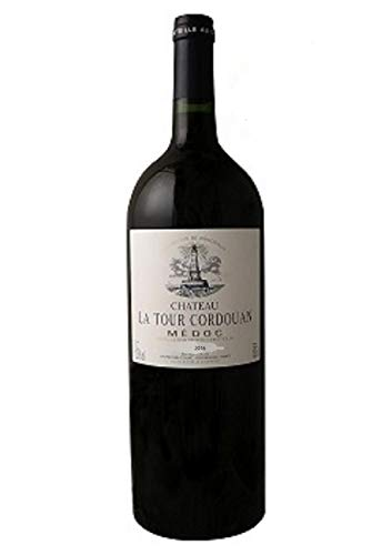 MAGNUM CHATEAU LA TOUR CORDOUAN - Vin Rouge AOP Médoc Bordeaux - 2016. 1,5L