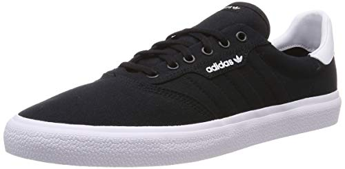 Adidas 3Mc, Zapatillas Skateboard Unisex Adulto, Negro