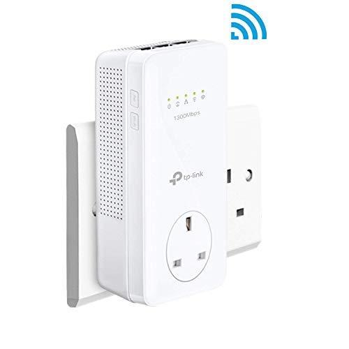 TP-LINK TL-WPA8630P Adaptateur réseau CPL 1300 Mbit/s Ethernet/LAN Wifi Blanc 1 pièce(s) - Adaptateurs réseau CPL (1300 Mbit/s, IEEE 1901,IEEE 802.3,IEEE 802.3u, Type F, Gigabit Ethernet, 10,100,1000 Mbit/s, Wi-Fi 4 (802.11n))
