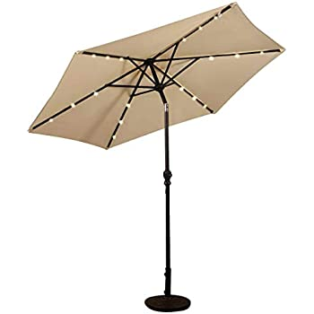 Amazon.de: Swing & Harmonie Sonnenschirm mit LED