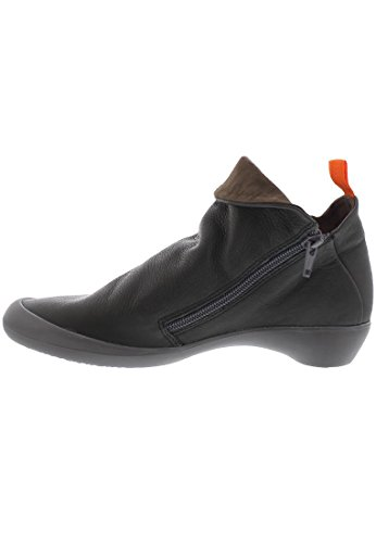 softinos FARAH smooth/suede combi HW17 Schwarz