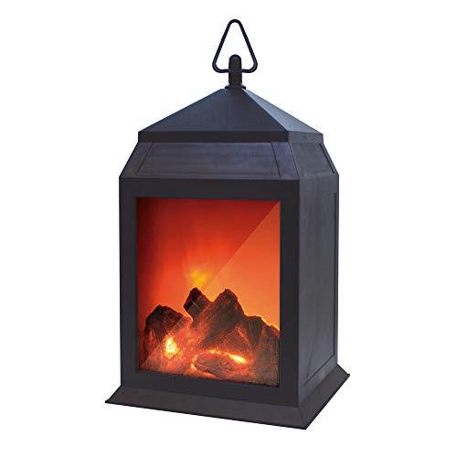 Starlyf Fire® LED-Laterne mit Kamin-Optik und Flammen- Effekt - Original aus TV-Werbung