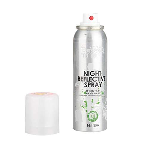 tive Spray, Paint Reflektierende Sicherheitsmarkierung Glow Effekt im Dunkeln Anti Accident Riding Bike Night Spray ()