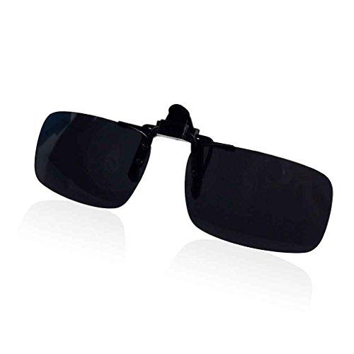 Sunlera Brillen polarisierten Klipp auf Flip Up Fahren Sonnenbrille