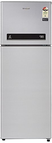 Whirlpool 265 L 3 Star Frost-Free Double-Door Refrigerator (Neo DF278 PRM, Galaxy Steel)