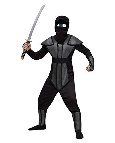 Horror-Shop Ninja Kinderkostüm Set S (Spiegel Ninja Kostüm)