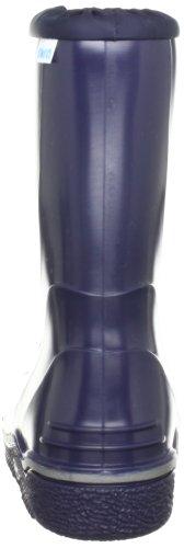 Nora PELMO Unisex-Erwachsene Halbschaft Gummistiefel Blau (Blau 23)