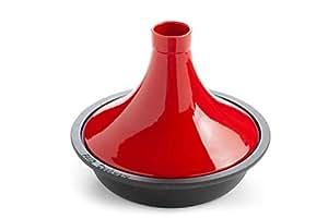 Faircookware Tajine Fonte de Haute Qualité - 29 cm - 2,4L – Adapté sur Tout Type de Table de Cuisson, y Inclus l'Induction et la Grille – Lavable au Lave-Vaisselle