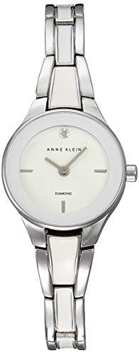Anne Klein Classic Reloj de Mujer Cuarzo 25mm Correa de Acero AK/2557WTSV