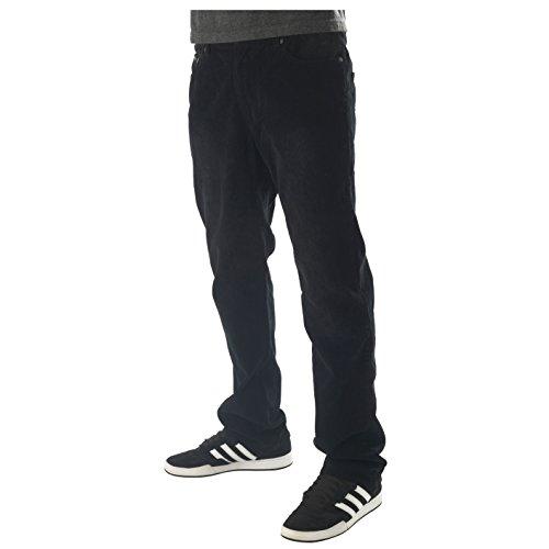 Troy Lee Designs Courier Herren Cordhose Vintage Schwarz 32 Cords Corduroy Pants
