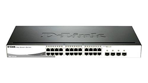 D-Link DGS-1210-24 - Switch de red (24 x RJ45, 24 W, 1...