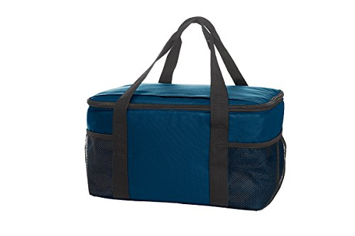 Cool Bag Family- Borsa frigo grande 37x20x28 Blu
