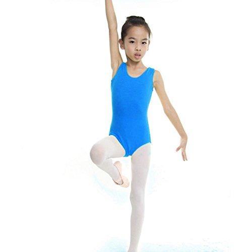 Moresave Bambini Ragazze Body Body Ballet Dance Party Discoteca Skater Skirt 4-13 (3 Pezzi Bambino Outfit)