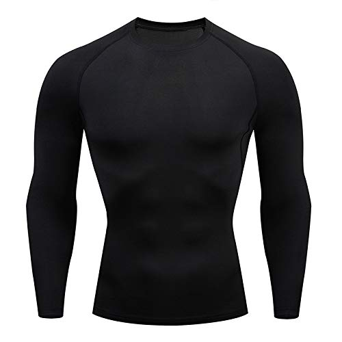 Holure Mens Base Layers Tops, Lo...