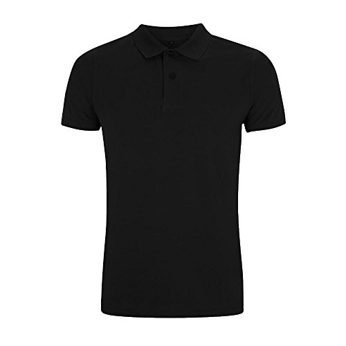 Continental - Men's Urban Brushed Poloshirt / Black, M (Shirt Jersey Polo Mens)
