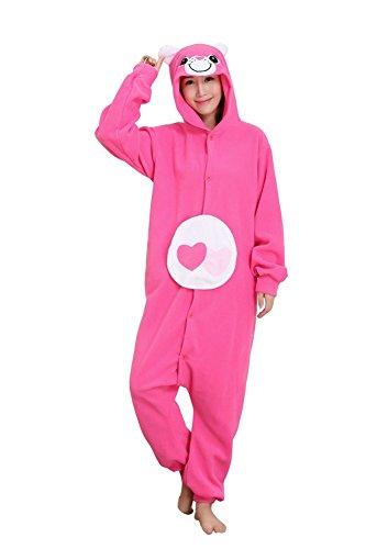 Samgu Unisexe Adulte Ours Animal Onesie Kigurumi Pyjamas Halloween Cosplay Costume S