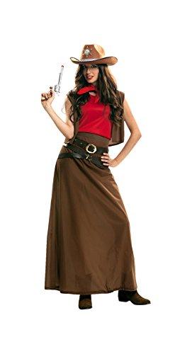 My Other Me - Disfraz de vaquera para mujer, XL (Viving Costumes 202619)