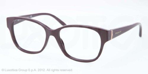 Bulgari Montures de lunettes 4077 Pour Femme Black, 52mm 5265: Dark Violet