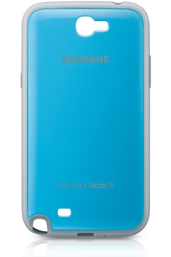 Samsung EFC-1J9BLEGSTD Protective Cover per Galaxy Note 2, Azzurro