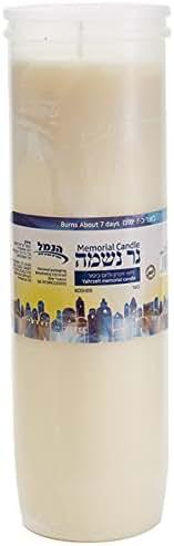 Bougie Yahrzeit 7 jours
