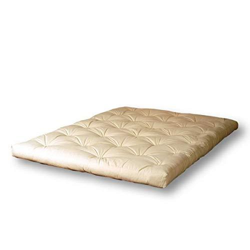 Cinius futon superior 160x200 (materasso matrimoniale), latex+cotone (h13cm circa), 160 x 200 cm