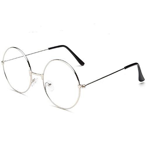 PICCOLI MONELLI Harry Kinder Karneval Brille Rotonglas klar mit Silberrahmen Legierung