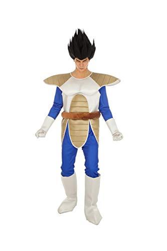 Chaks Dragon Ball Vegeta-Herrenkostüm Lizenz-Verkleidung bunt - Saiyajin Kostüm