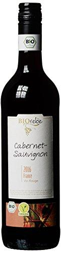 BIOrebe Cabernet Sauvignon IGP Frankreich Rotwein Trocken (6 x 0.75 l)