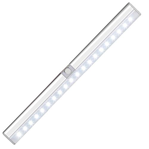 Cynthia 20 LEDs USB Recargable luces para armarios luz led sensor movimiento...